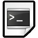 Application, Shellscript, x Icon