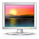Computer, Desktop, Monitor, Screen, Wallpaper Icon