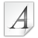 Afm, Application, Font, x Icon
