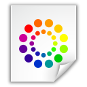 Color, Colors, File, Wheel Icon