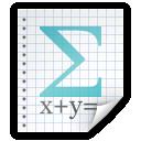 File, Math Icon