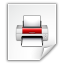 Application, Postscript Icon