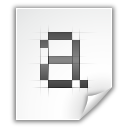 Application, Bdf, Font, x Icon
