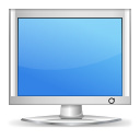 Computer, Display, Monitor Icon