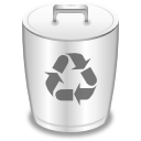 Alt, Bin, Empty, Recycle, Trashcan Icon