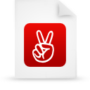Document, File, g, Paper, Red Icon