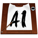 Ai, Document, File, Illustrator Icon