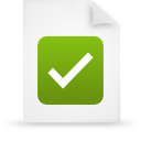 Document, File, g, Green, Paper Icon
