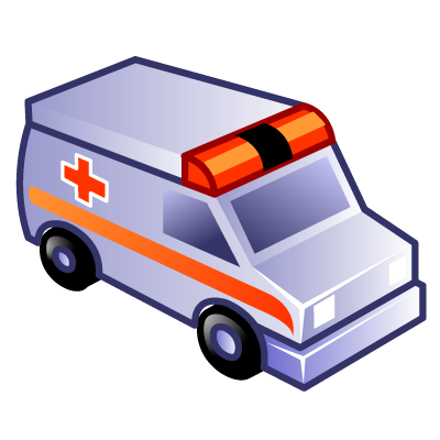 Ambulance, Emergency Icon