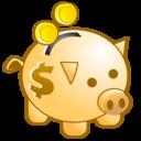 Bank, Deposit, Money, Piggy, Save Icon