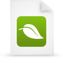 Document, Eco, File, Friendly, g, Green, Organic, Paper Icon