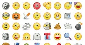 Shrunk Pidgin Smilies Icons