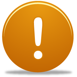 Alert, Exclamation Icon