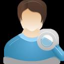 Male, Search, User Icon