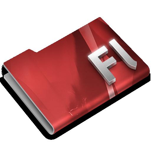 Adobe, Cs, Flash, Overlay Icon