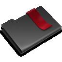 Black, Bookmarks Icon