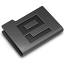 Black, Enhanced, Etched, Labs Icon