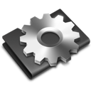 Alternate, Black, Developer, Folder Icon