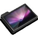 Black, Desktop, Folder, Screen Icon