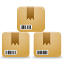 Boxes, Inventory, Products Icon