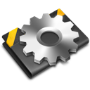 Black, Developer, Settings, Tools Icon
