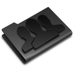 Black, Groups Icon