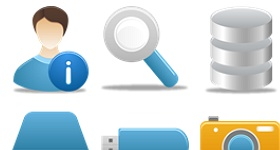Pretty Office Part 2 Icons