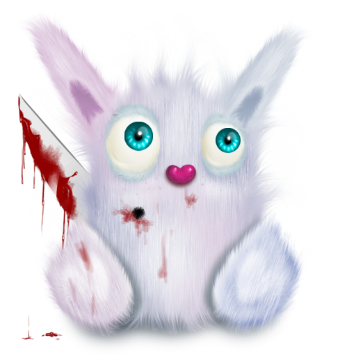 Animal, Murder, Pink, Rabbit Icon