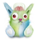 Animal, Green, Rabbit Icon