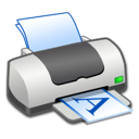 Landscape, Printer Icon