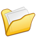 Folder, Mydocuments, Yellow Icon
