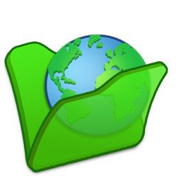 Folder, Green, Internet Icon