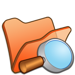 Explorer, Folder, Orange Icon