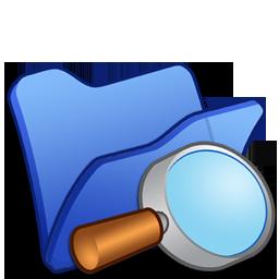 Blue, Explorer, Folder Icon