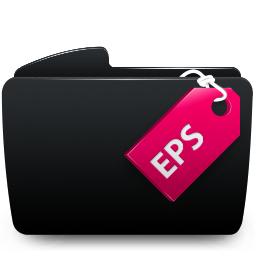 Black, Eps, Folder Icon