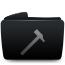 Black, Developers, Folder Icon