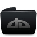 Black, Deviantart, Folder Icon