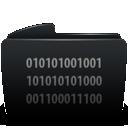 Black, Byte, Folder Icon