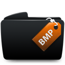 Black, Bmp, Folder Icon