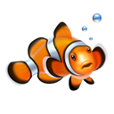 Clown, Fish, Nemo Icon