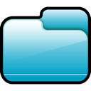 Blue, Closed, Folder Icon
