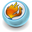Fire, Nero, Usb Icon