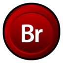 Adobe, Bridge, Cs Icon