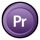 Adobe, Cs, Premiere Icon