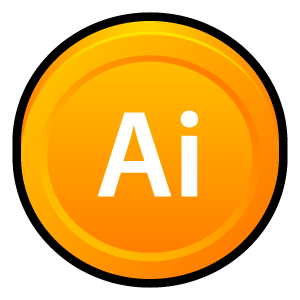 Adobe, Cs, Illustrator Icon