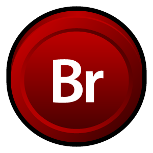 Adobe, Bridge, Cs Icon