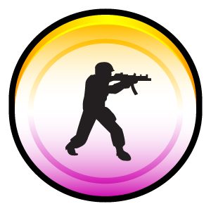 Counter, Source, Strike Icon