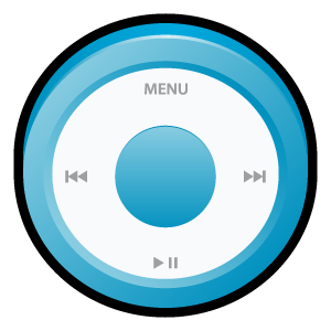Blue, Ipod Icon