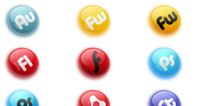 Qure for Adobe Creative Suite Icons