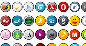 Puck Icons Pack II Icons